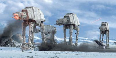 Star Wars: New Look At The Force Awakens' First Order Walkers