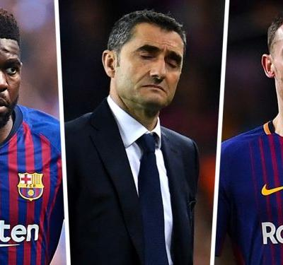 Vermaelen facing six weeks out as Barcelona defensive crisis worsens ahead of El Clasico