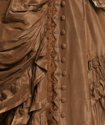 Up Close: Wedding Dress 1872-1876