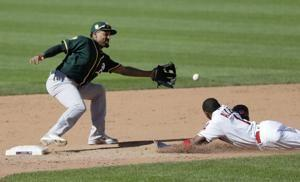 Piscotty homers in 11th, Athletics rally past Indians 6-3