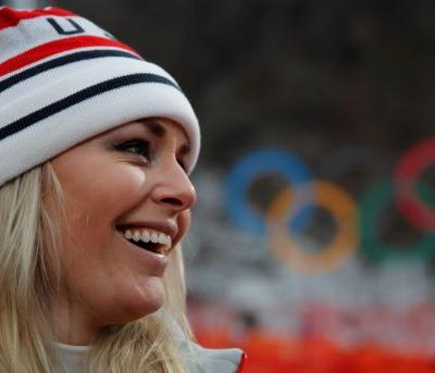 Vonn scatters grandfather's ashes near downhill course