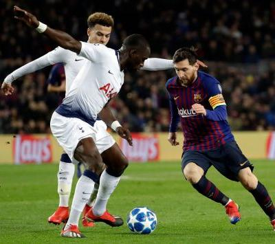 Tottenham advances to CL round of 16 after 1-1 draw at Barca