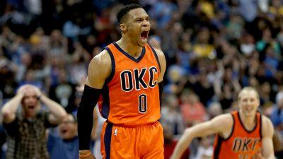 Thunder's Russell Westbrook credits 'Why not?' attitude for record triple-double run
