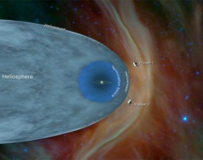 NASA Voyager 2 probe enters interstellar space 11 billion miles from Earth