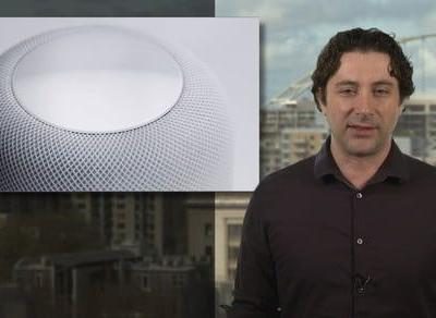 Is the Apple HomePod marking its territory with its own 'spaceship' symbol?