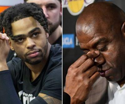 Magic Johnson's Lakers tell-all: Shady Snapchat forced Russell trade