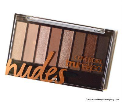 Make-Up Look | Covergirl TruNaked Nudes Eyeshadow Palette