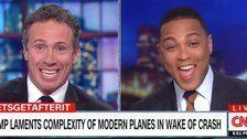 Trump's 'Ludicrous' New Tweet Has Chris Cuomo And Don Lemon Laughing And Singing