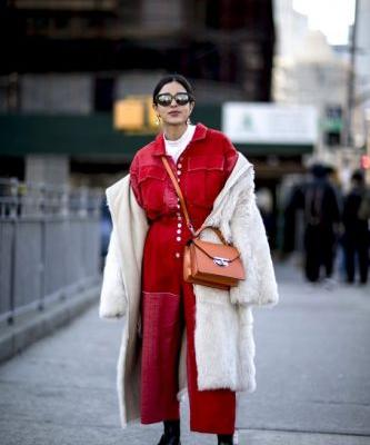 This NYFW Street Style Staple Is 2018's Answer to the Jumpsuit