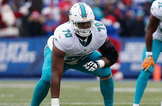 Dolphins RT Ja'Wuan James placed on injured reserve, ending season