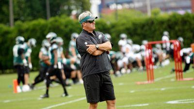 Pederson compares Eagles to Favre's Packers