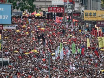 Mass protests continued in Hong Kong as it prepares to debate a controversial extradition bill that would give China more power over the territory