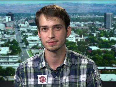 'I was not trying to protest': 'Plaid shirt guy' believes he was removed from Trump rally for lack of enthusiasm