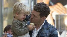 Michael Bublé Says 'Superhero' Son's Cancer Battle Was Hell