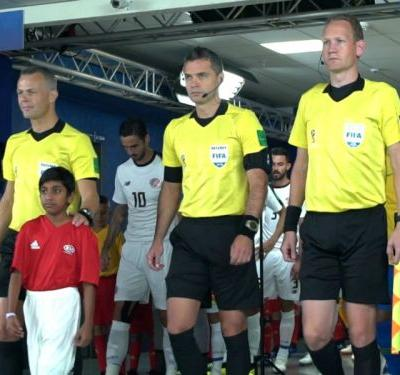 VIDEO: Leading out their heroes at the FIFA World Cup