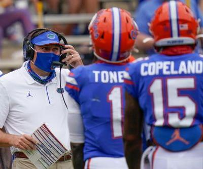 Florida coach Dan Mullen gets COVID-19 week after calling to pack stadium