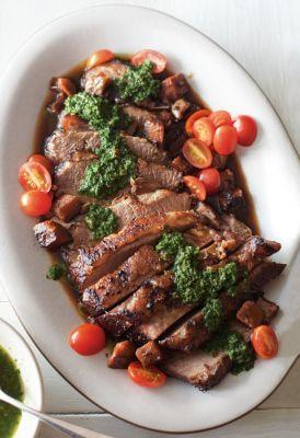 Braised Brisket with Chimichurri