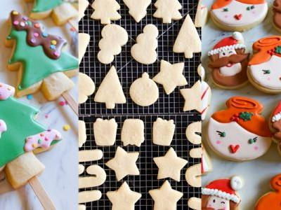 Recipes and Tips for Christmas Cookie Decorating