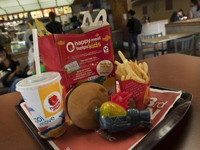 Say Goodbye to the McDonald's Cheeseburger Happy Meal