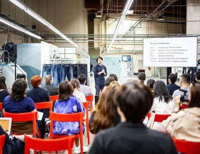 Inside Uniqlo's Jeans Innovation Center in Los Angeles