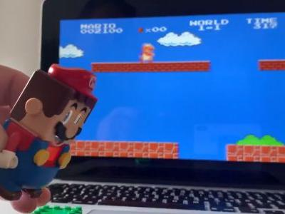 Hacker Makes LEGO Super Mario Controller for Super Mario Bros., Will Share Codes in Twitter Soon