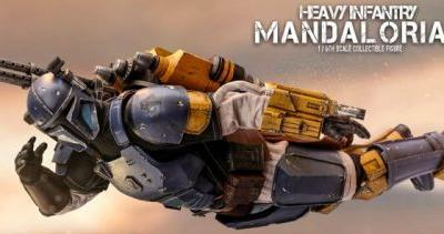 Hot Toys Expands 'The Mandalorian' Figure Line with the Heavy Infantry Mandalorian