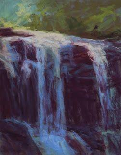 Painting Falling Water