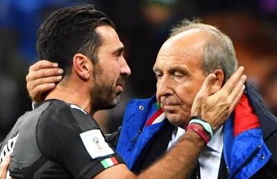 Italy fires coach after World Cup qualifying loss