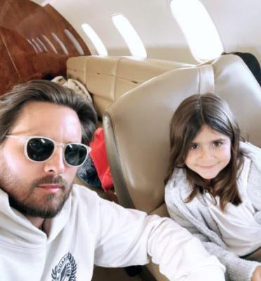 Scott Disick Shares Sweet Snap With Penelope Amid Sofia Richie Breakup News