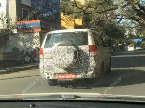 2020 Mahindra TUV300 Plus BS6 SUV Spotted Testing Expected To Launch In April 2020