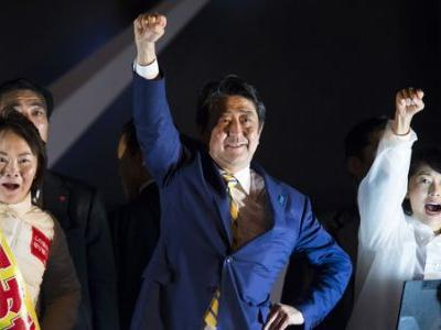 Japanese Elections Strengthen Abe, Reward His Gamble