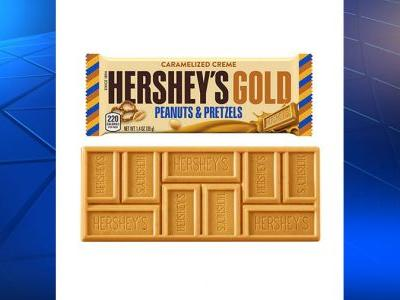Hershey's Gold is here, the Pennsylvania company's first new candy bar since 1995