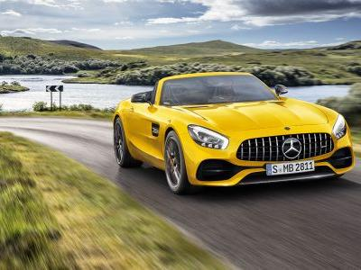 Mercedes-AMG GT S Roadster Arrives To Fill The Gap