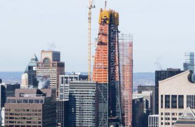 Jean Nouvel's 53 West 53rd Street Tops Out in New York City
