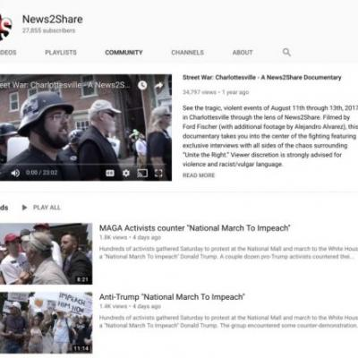 YouTube's anti-extremism crackdown targets journalist who documents extremism