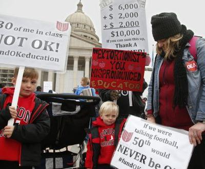 How students are affected during Oklahoma teachers' walkout