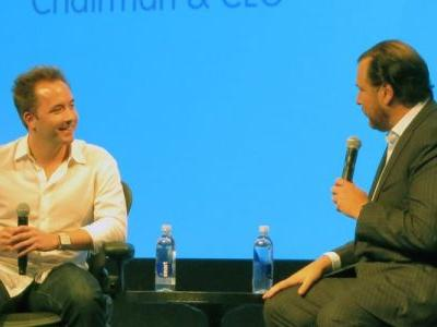 Salesforce's $100M Dropbox investment, on the eve of the IPO, could signal an acquisition