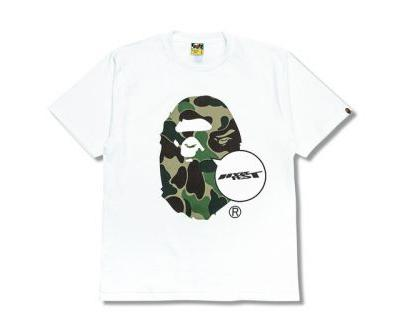 BAPE Launches Co-Branded Ape Head Tee as HYPEFEST-Exclusive