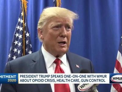 President Trump speaks one on one with WMUR about issues facing New Hampshire