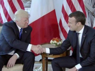 Trump Blasts Macron For Proposing 'European Army' Upon Arrival in France: 'Very Insulting!'