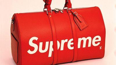 The Louis Vuitton x Supreme Collaboration Just Debuted on the Runway
