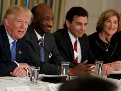 Merck's CEO left Trump's manufacturing council over Charlottesville - here's how the rest of the council responded