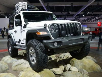 2018 Jeep Wrangler Promises Improved On-/Off-Road Performance And Fuel Economy