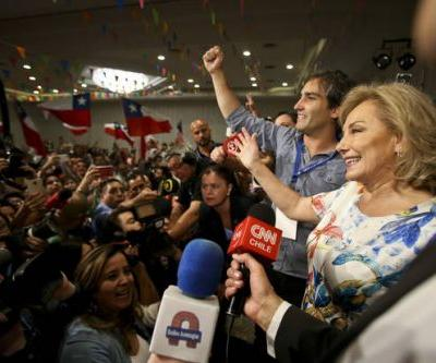 The Latest: Pinera backers celebrate victory in Chile vote