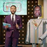 """Watch John Legend Play """"Fatherly Feud"""" With Anthony Anderson, Patton Oswalt, and More Celeb Dads"""