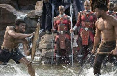 That Waterfall Scene Is A Nod To A Classic Black Panther Comic