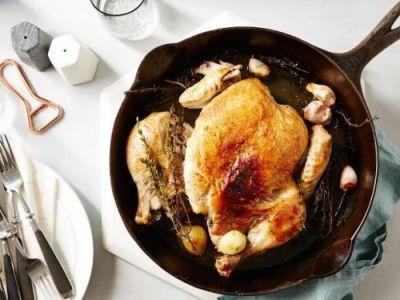 Recipe of the Day: Cook Like a Grown-Up: Chicken Under a Brick