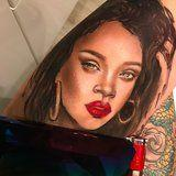 These Unbelievable Portraits of Rihanna Are Made With -What Else? -Fenty Beauty