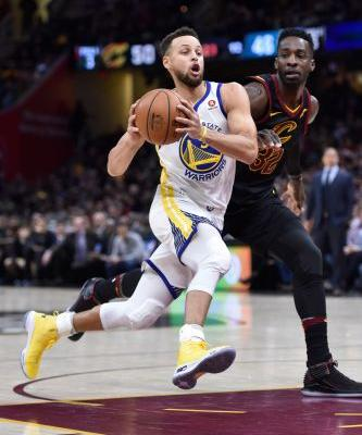 Golden State Warriors surge past Cleveland Cavaliers in final regular-season meeting