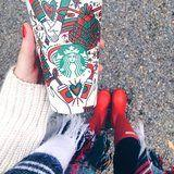 """14 Colorful Photos That Show How People Are Decorating Their Starbucks """"Red"""" Cups"""